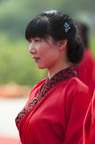 Chinese Han-style mass wedding Royalty Free Stock Photography