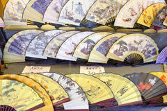 Chinese hand fans Royalty Free Stock Photo
