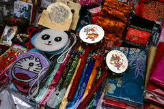 Chinese Handicrafts. For sale in a Beijing shop Royalty Free Stock Photography