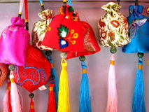 Chinese handicrafts. Perfume package kit, very beautiful Royalty Free Stock Images