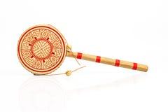 Chinese handtrommel Royalty-vrije Stock Afbeeldingen