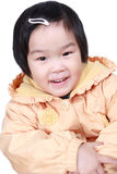 Chinese happy little girl Stock Photography