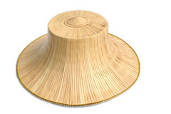 Chinese hat. Straw chenese hat Royalty Free Stock Photos