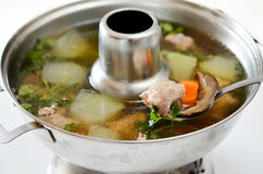 Chinese Healthy Soup Royalty Free Stock Image