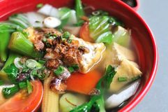 Chinese healthy vegetable soup Royalty Free Stock Image