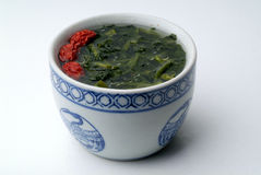 Chinese healthy vegetable soup Royalty Free Stock Photo
