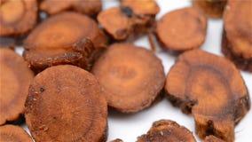 Chinese herb medicine of Glycyrrhiza uralensis or Licorice rotating