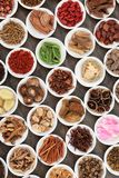 Chinese Herb Selection Royalty Free Stock Images