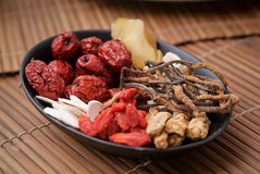 Chinese herbal. Royalty Free Stock Image