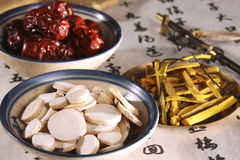 Chinese herbal medicine Royalty Free Stock Photography