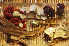Chinese herbal medicine Stock Images