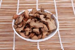 Chinese herbal medicine. Alpinia officinarum Hance,Chinese herbal medicine, China's traditional Chinese medicine royalty free stock photo
