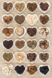 Chinese Herbal Medicine Stock Photo