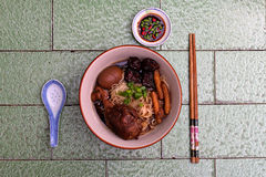 Chinese Herbal Noodle stock image