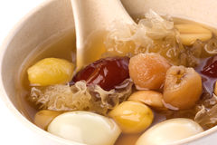 Chinese Herbal Sweet Soup stock photos