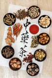 Chinese Herbal Tea Stock Photography