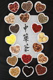 Chinese Herbal Teas Royalty Free Stock Images
