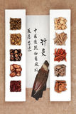 Chinese Herbal Therapy Royalty Free Stock Photo