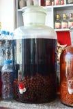 Chinese herbal wine Stock Photos