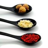 Chinese Herbs alternative medicine Stock Image