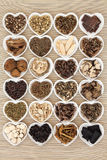 Chinese Herbs Royalty Free Stock Image