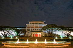 Chinese Heritage Centre at night Royalty Free Stock Photos