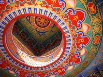 Chinese het schilderen muur Royalty-vrije Stock Foto's