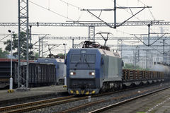 Chinese  HeXie Freight train Stock Image