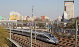 Chinese High-speed Rail royalty free stock image