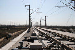 Chinese high speed railway Stock Photography