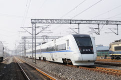 Chinese high speed train Royalty Free Stock Images