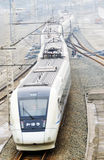 Chinese high speed train Royalty Free Stock Photos