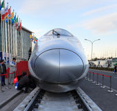 Chinese high-speed train Royalty Free Stock Image