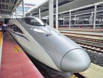 Chinese high speed rail Stock Photos