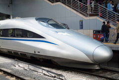 Chinese high speed train Royalty Free Stock Photography