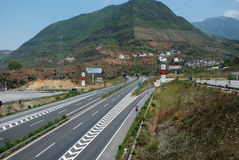 Chinese highway Stock Image