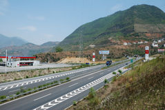 Chinese highway Stock Photo