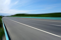 Chinese highway under blue sky Royalty Free Stock Photography