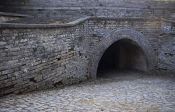 Chinese historial tunnel Stock Afbeelding