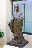 Chinese historian sima qian. The great Chinese historian sima qians statue Stock Photo