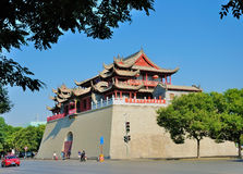 Chinese historic building Royalty Free Stock Images