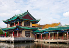 Chinese historic building Stock Photography