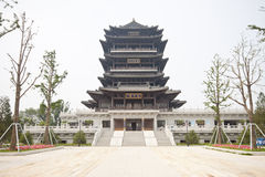 Chinese historic buildings Royalty Free Stock Photo