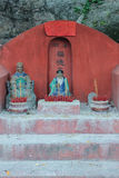 Chinese Holy mans at Tam Kung temple, Temple Stock Images