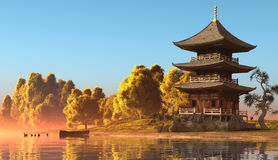 Chinese home Stock Image