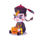 Chinese Hopping Vampire Ghost for Halloween Royalty Free Stock Photos
