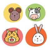 Chinese horoscope animal Royalty Free Stock Photography