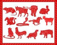 Chinese horoscope Stock Images