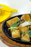 Chinese hot plate bean curd cuisine Stock Images