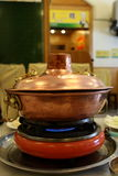 Chinese Hot Pot Stock Photography